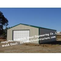 Wholesale Bespoke Pre Engineered Steel Buildings Customized Size For Car Garage from china suppliers