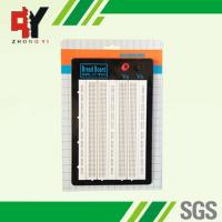 Wholesale White ABS Metal Reed Test Breadboard Electronics 1580 Tie - Point Universal Printed Circuit Board from china suppliers
