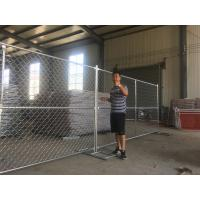 Wholesale imported china 6 foot x 12foot temporary chain link fence panels from china suppliers