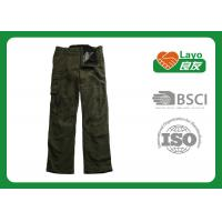 Wholesale Military Style Thermal Fleece Hunting Pants Windproof With ISO9001 from china suppliers