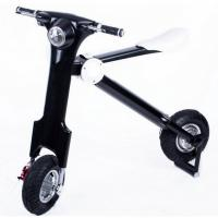 Quality 12inch Adult Folding Electric Bicycle / Bike With Seat , 35km/H Max Speed for sale