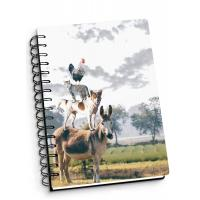 Wholesale Depth Effect A4 A5 A6 3D Lenticular Notebook For Student Stationery Eco-friendly from china suppliers