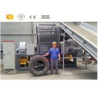 China New style high quality used tractor tire recycling machinery with CE on sale
