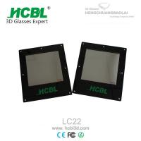 Wholesale 10*10Cm 3D TV Polarized Glass Lens for Dual - view Integral Imaging 3D Display from china suppliers