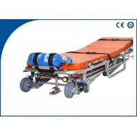 Wholesale Stainless Steel Ambulance Stretcher Auto Loading for Outdoor Rescue from china suppliers