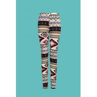 Buy cheap Woman's Spandex Allover Printed Knit Leggings from wholesalers