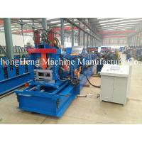 Wholesale Hydraulic Steel Roll Forming Machine C Purlin GCr15 Roller Frequency Control from china suppliers
