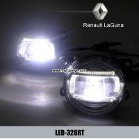 Wholesale Renault Laguna car front fog lamp assembly LED daytime running lights DRL from china suppliers