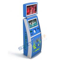 Wholesale ZT2188 Dual Display Hotel Airline Self Check In Kiosk with Large Screen Advertisement from china suppliers