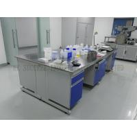 Quality Steel Wood Structure Lab Casework With Stainless Steel Work Top In Aanlysis Test Laboratory for sale