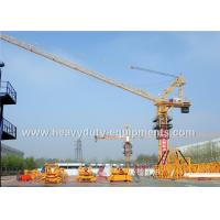 Wholesale Tower crane with free height 53m and max load of 16T equipped all necessary safety devices from china suppliers