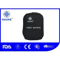 Wholesale Ultralight Basic Hiking First Aid Kit , Black Hiking Emergency Kit Logo Printed from china suppliers