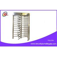 Wholesale 120 Degree Single Channel Electronic Semi-auto Single Turnstile Full Height from china suppliers