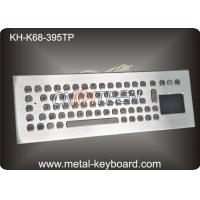 Wholesale Water Resistant Desktop Industrial Keyboard With Trackball / Touchpad Mouse , 90 Keys from china suppliers