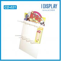 Buy cheap key chains small hook counter display standee from wholesalers