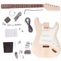 Wholesale Fender ST Style Unfinished DIY Electric Guitar Kits / Semi Finished Guitar AG-ST1 from china suppliers