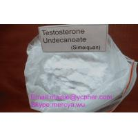 Wholesale Testosterone Undecanoate Raw Steroid Powders / Oral Steroids Pharmaceutical Material from china suppliers