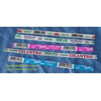 China fresh vegetable paper wired twist ties/wired tape on sale