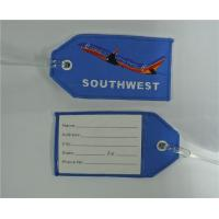 Wholesale Embroidered Luggage Tag SOUTHWEST Airplane from china suppliers