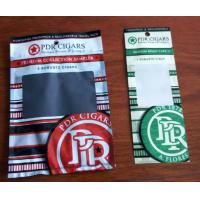 Wholesale Custom Cigar Packaging Plastic Bag/ Cigar Wraps with Zipper and Window / humidified system to keep cigars fresh from china suppliers