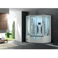 Wholesale Luxurious acrylic portable sauna bath room with bathtub from china suppliers