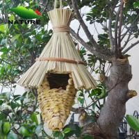 Wholesale Straw Birdhouse for Garden and Outdoor from china suppliers
