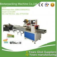 Wholesale Horizontal pillow type flow pack Machine with revolving feeder-Bestar packing machine from china suppliers