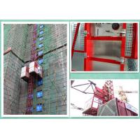 Wholesale Construction Platform Lifts Buck Hoist , Construction Elevator Rental High Performance from china suppliers