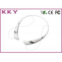 Wholesale Cell Phone Bluetooth 4.0 Headset With FCC / CE / RoHS 5 Hours Play Time from china suppliers
