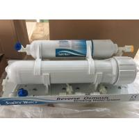Quality Household Manual Flush Reverse Osmosis Water Filtration System Without Pump for sale