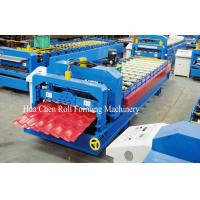Wholesale Wall Panel / Glazed Tile Roll Forming Machine , Auto Cold Roll Forming Equipment from china suppliers