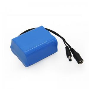 Wholesale MSDS 12V 5000mAh 18650 Battery Pack CC CV Lithium Ion Battery Pack from china suppliers