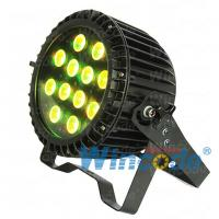 Buy cheap 12*15W RGBAW led par 5 in 1 , Professional Stage Lights Die casting Body from wholesalers