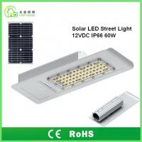 Wholesale IP66 Solar Powered LED Street Lights 60 W with 10 Years Warranty , TUV CE RoHS from china suppliers