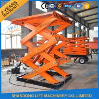 Wholesale CE TUV 2T Stationary Hydraulic Scissor Lift Platform Warehouse Cargo Scissor Lift from china suppliers