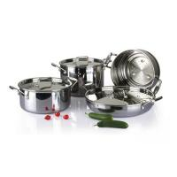 4Pcs 3-ply stainless steel cookware set SHCY-3012