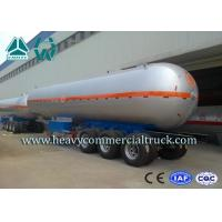 Wholesale High Performance Tri axle Carben Steel LPG Semi Trailer Tri Axle 40000L from china suppliers