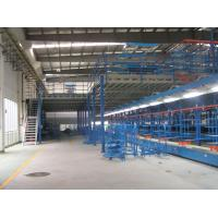 Wholesale Blue / Grey Industrial Mezzanine Floors With Double / Triple Levels , 500kg - 1000kg from china suppliers