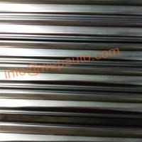 Buy cheap Induction hardened and hard chrome plated bars of the material  bearing steel. SUJ2 from wholesalers