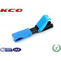 Wholesale SC Fiber Optic Fast Connector Field Assembly Single Mode Pre Polished from china suppliers