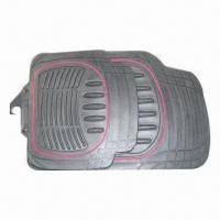 Wholesale Rubber Car Mat, Easy to Clean and Wash, OEM Orders are Accepted from china suppliers