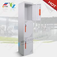 Quality Three door steel locker FYD-G003,H1850XW380XD450mm,Knocked down structure,white color for sale