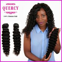 Buy cheap 8a grade top quality Wholesale factory price human hair deep wave hair weave from wholesalers