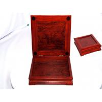 Wholesale Solid Rosewood square wood box from china suppliers