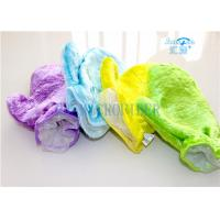 Wholesale Microfiber Wash Mitt Gloves Good Helper For Kitchen Dishes Cleaning from china suppliers