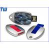 Buy cheap Zinc Metal Water Drop Sliding 1GB USB Flash Drive Resin Dome Logo from wholesalers