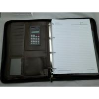 Wholesale Luxury Design Brown Leather Diary Notebook Organizer Portfolio from china suppliers