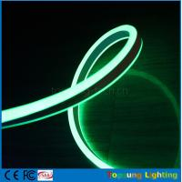Wholesale 2016 new design 24V double side green color led neon flexible strip for buildings from china suppliers