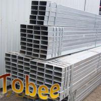 Wholesale Rectanguler steel pipe for construction hot dipped galvanized from china suppliers