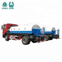 Wholesale 10000 / 20000 Liter SS Water Tank Truck With Spraying Range Wide Feature from china suppliers